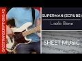 Capture de la vidéo Superman (Scrubs Theme) - Lazlo Bane (Bass Cover With Sheet Music) | Basstranscriptions #5