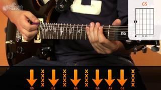 T.N.T - AC/DC (aula de guitarra)