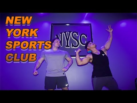 LIFTING AT NEW YORK SPORTS CLUB!!
