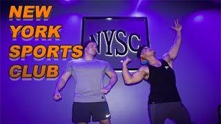 LIFTING AT NEW YORK SPORTS CLUB!!