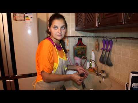 Как почистить сибаса правильно видео