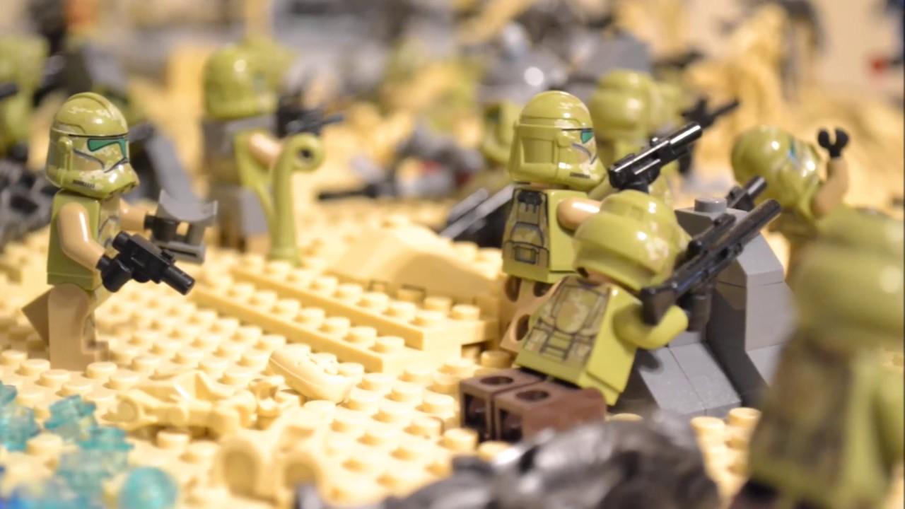 Lego Star Wars: Clone Wars Beach Invasion MOC - YouTube