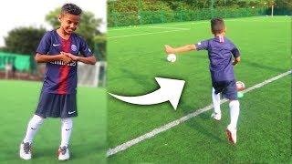 I Met 9 Year Old Neymar & He Did This (Amazing Soccer Skills)