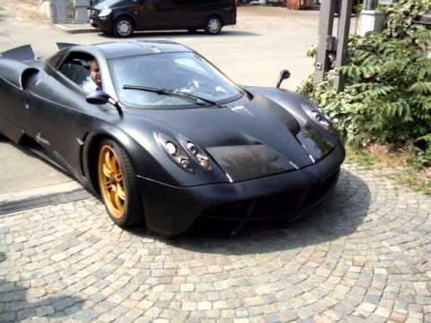Pagani Huayra at Pagani HQ.MPG - YouTube