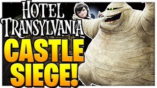 HOTEL TRANSYVANIA CASTLE SIEGE *BRAND NEW MINIGAME* - Modded Minecraft Minigame