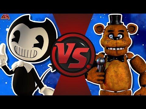BENDY vs FREDDY FAZBEAR! (Bendy and The Ink Machine VS Five Nights at Freddy's) CFC Bonus EP 26