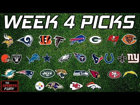NFL Week 4 Picks | Feat. The Waterboy Report