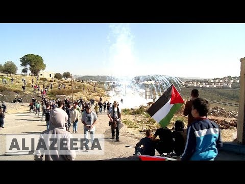 Palestinians protesters demand Ahed Tamimi's release