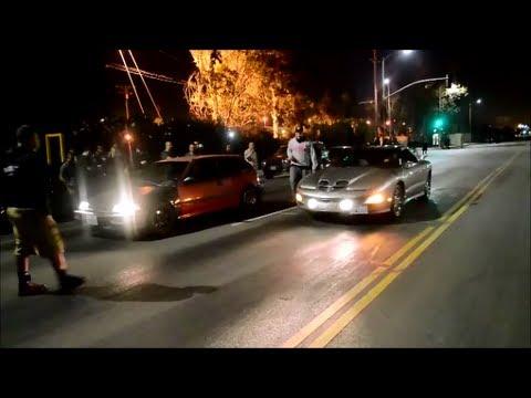 Trans Am WS6 vs Civic EF Nitrous