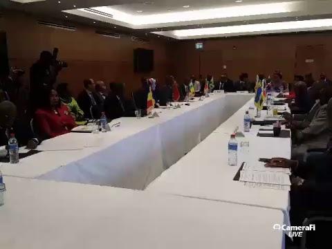 BRAZZA FINANCE CLIMAT 2017 - CEREMONIE OFFICIELLE D'OUVERTURE DU SEGMENT DES MINISTRES.