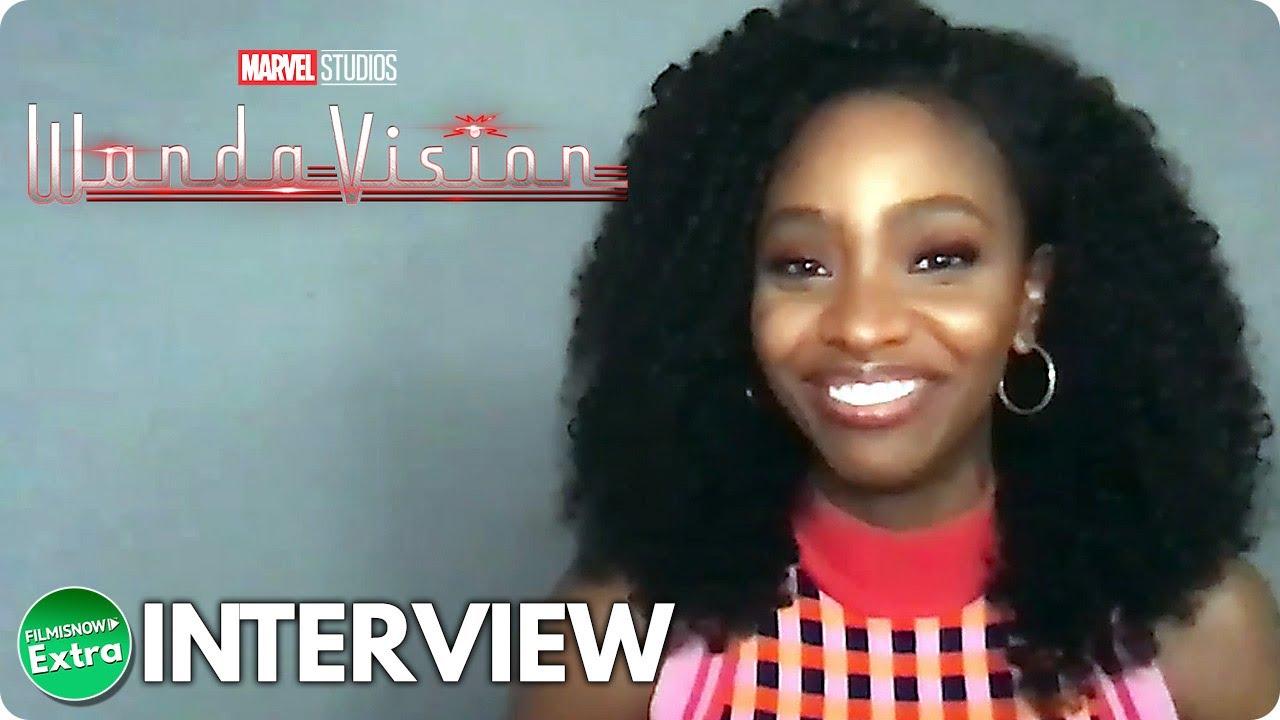 WANDAVISION | Teyonah Parris Official Interview