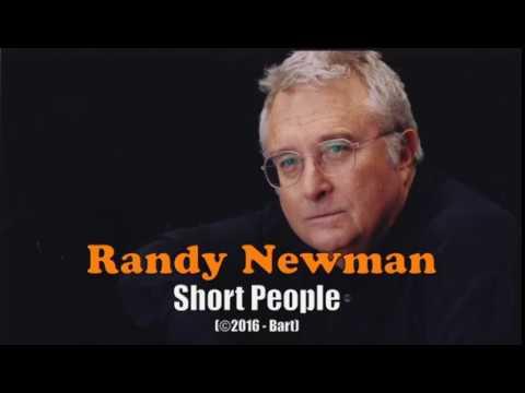 Randy Newman  Short People Karaoke