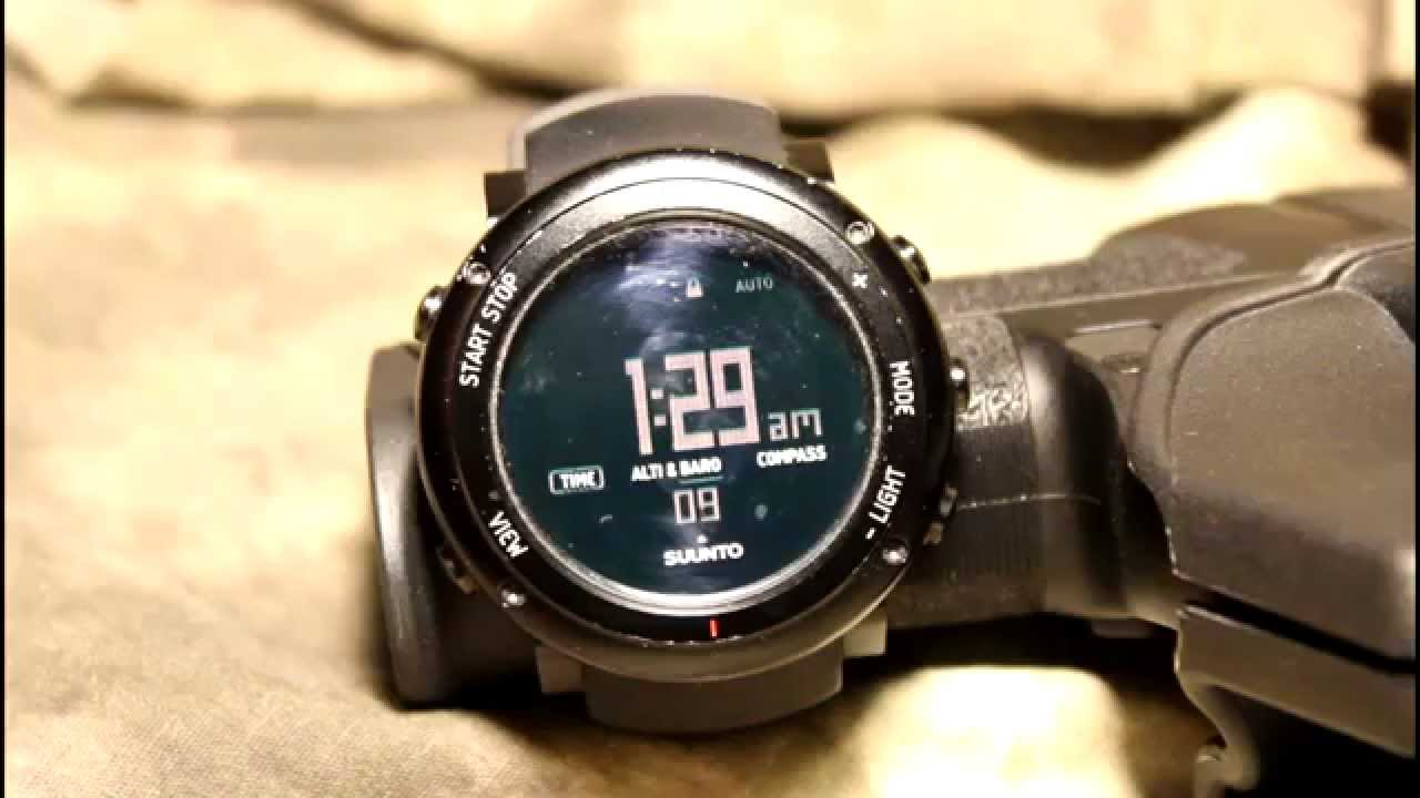 80463c80b44 The Gear Locker - Suunto Core ALU Deep Black Review  Outstanding Survival  Watch!  - YouTube