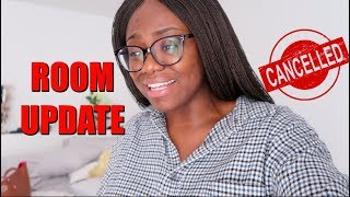 I CAN'T DO THIS ANYMORE  ROOM UPDATE + DECOR HAUL