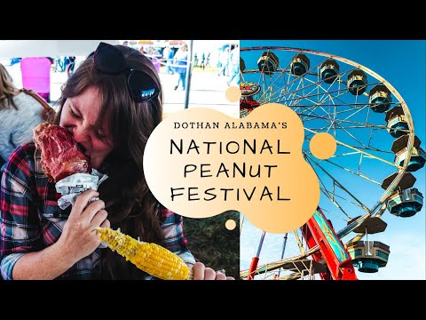 NATIONAL PEANUT FESTIVAL // A MUST DO IF STATIONED AT FORT RUCKER!