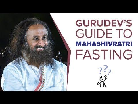The Complete Guide To #MahaShivratri Fasting!   Wisdom Talk By Gurudev
