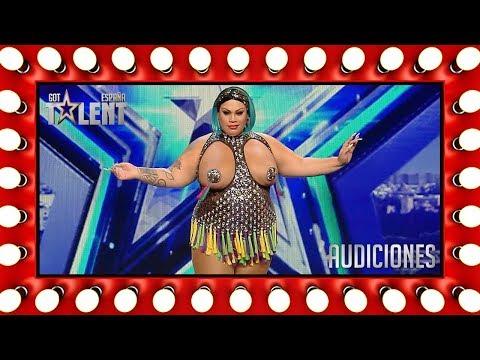 ¡Agárrense! Vienen curvas con Wendy Superstar   Audiciones 1   Got Talent España 2018