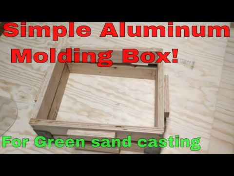 A Simple Plywood Molding Box for our 2500 Soda Cans! Part 5