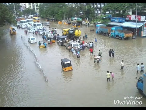 CHENNAI FLOOD: ASHOK NAGAR - (2/12/15)