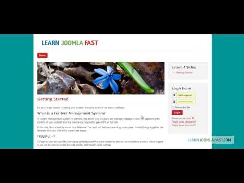 Joomla 3.2 - A Step By Step Guide For Beginners