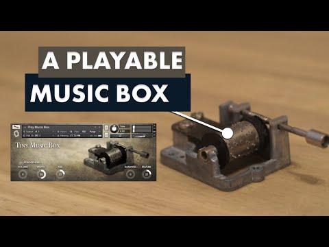 Tiny Music Box - Kontakt instrument demo