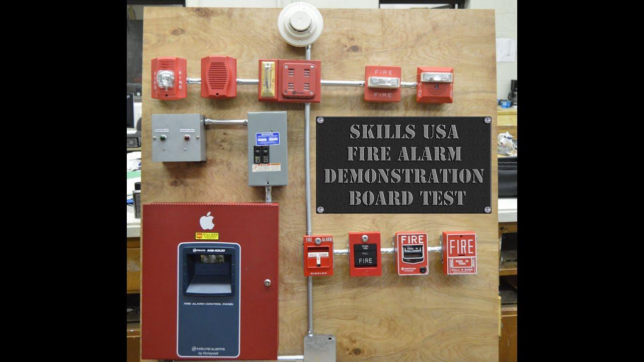 fire alarm system training pdf