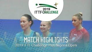 Noskova/Mikhailova - Jazbec/Malobabic | Nigeria Open (Финал)