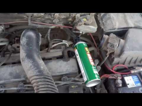 Ford Focus 1, zetec 1.8 - промывка испарителя кондиционера