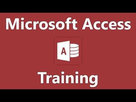 Access 2010 Tutorial Creating a Report in Design View Microsoft