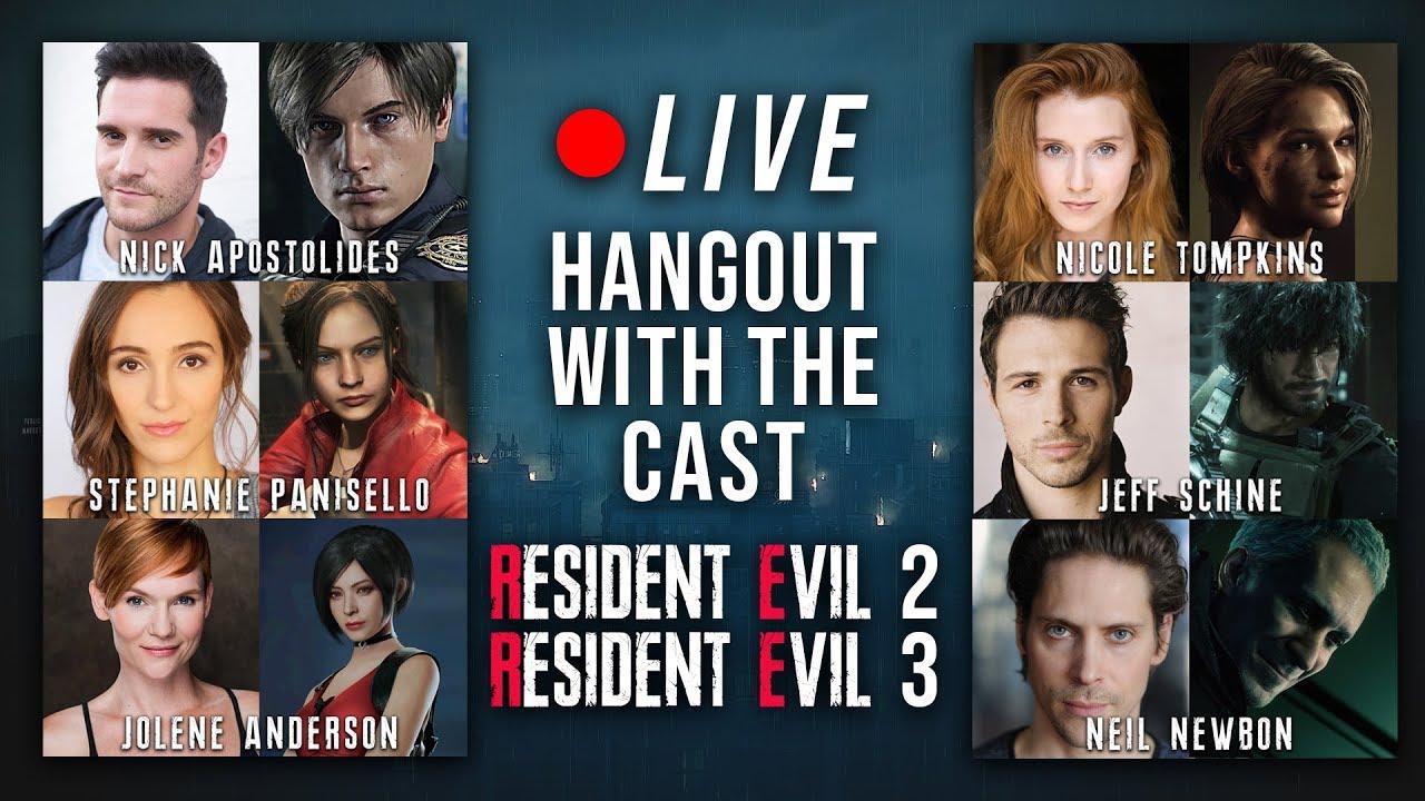 resident evil movies cast list