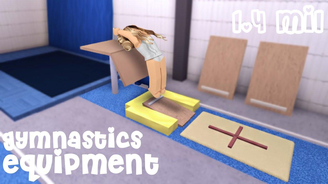 Gymnastics Equipment Speed Build [ ROBLOX BLOXBURG ]