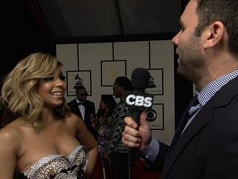 56th Grammy Awards - Ashanti Interview