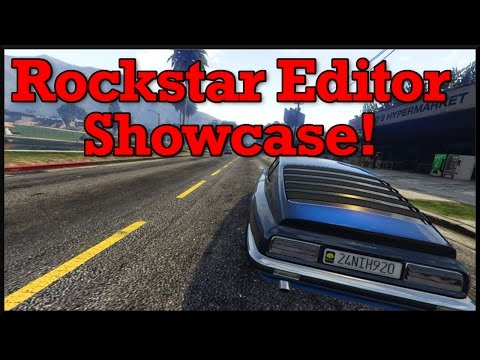 GTA 5: Rockstar Editor Showcase & How To Use The Editor On Consoles!