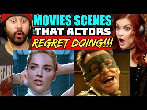 Movie SCENES That ACTORS REGRET DOING - REACTION!!!