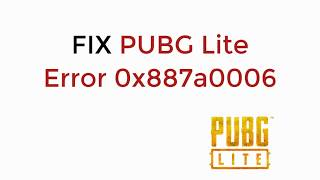 How To Fix Fatal Error In Pubg Pc Lite