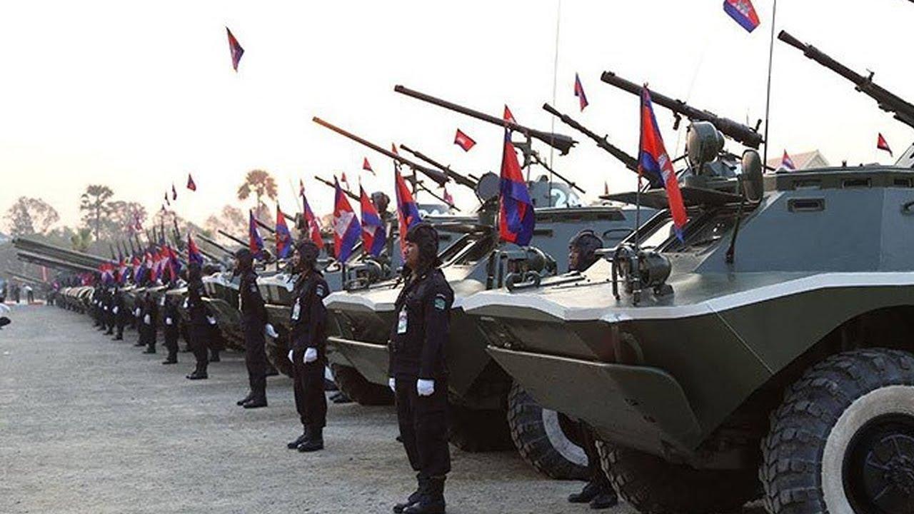 Quân đội Hoàng gia Campuchia khoe dàn vũ khí hùng hậu và hiện đại