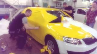Оклейка такси(, 2015-02-02T01:04:02.000Z)