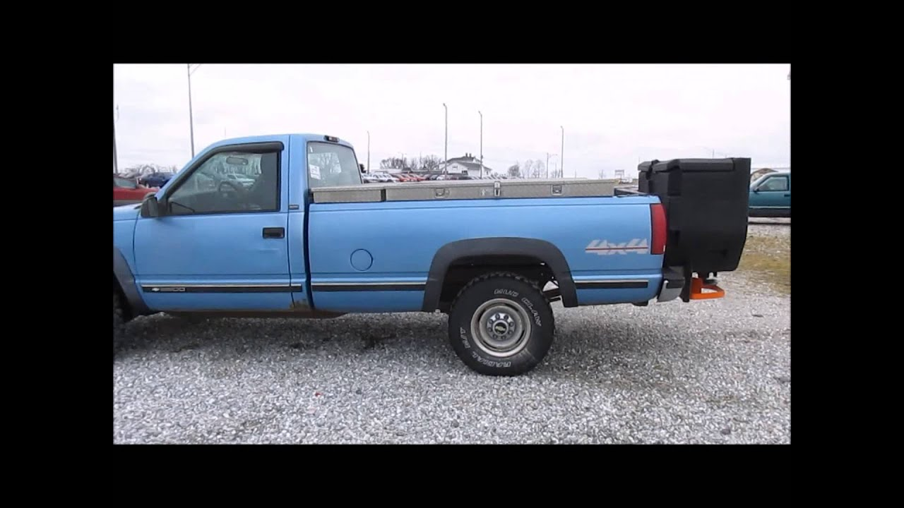 1996 chevrolet cheyenne 2500 pickup truck for sale sold. Black Bedroom Furniture Sets. Home Design Ideas