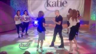 Jennifer Lopez Surprise By Beau & Katie Couric 14/9/12 HD