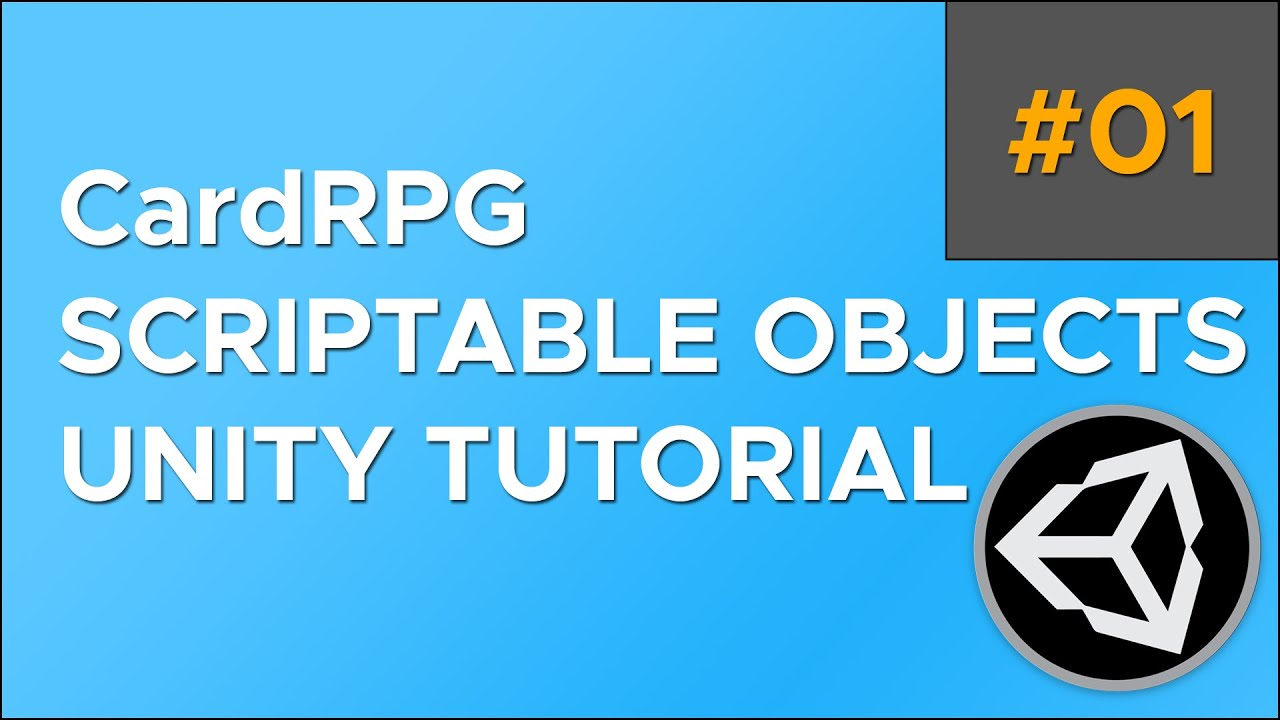CardRPG Scriptable Objects in Unity Tutorial [Part 1] - Project Setup