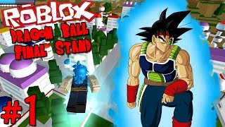 """A SAIYAN WARRIOR ARRIVES ON THE SCENE!"" - Roblox: Dragon Ball Final Stand 