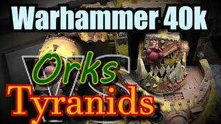 Orks vs Tyranids Warhammer 40k Battle Report Ep 30