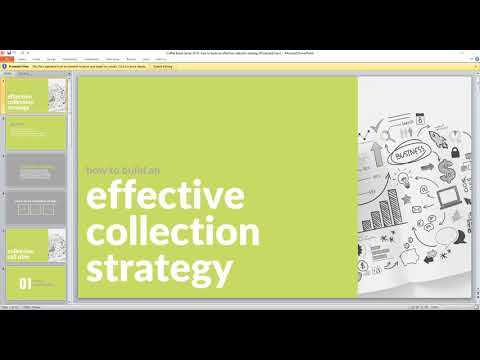 How to Build an Effective Collection Strategy