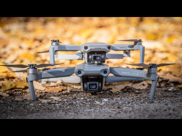 DJI Mini 2 vs Mavic Air 2 VIDEO Shootout: Can You Even Tell the Difference?