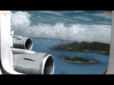 Amazing FSX & P3d Movie, Lufthansa Boeing 747 800I Flight Frankfurt to Seychelles