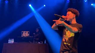 Lil Mosey Performing \