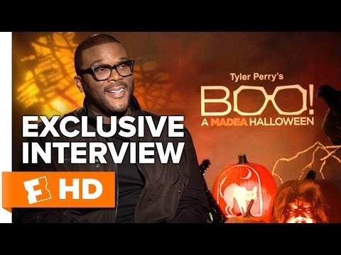 Tyler Perry Exclusive 'Boo! A Madea Halloween' Interview (2016)