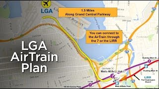 Gov. Cuomo Announces Plans For Rail Link To Laguardia