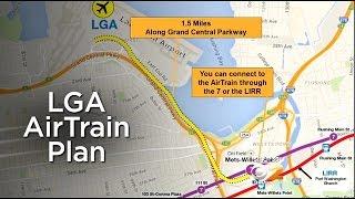 Gov. Cuomo Announces Plans For Rail Link To Laguardia