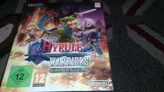 Nostalgamer Unboxing Hyrule Warriors On Nintendo Wii U UK PAL Version